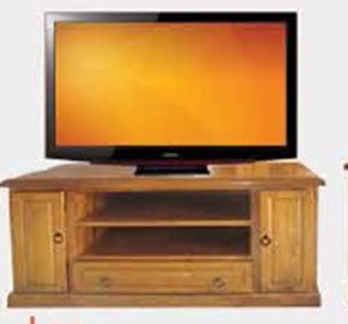 LEE LOWLINER TV UNIT - 1250(W) - BLACKWOOD (1066) OR WALNUT (1114)