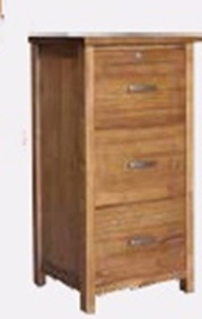 MONTANA 3 DRAWER FILING CABINET - MOUNTAIN GUM (3006)