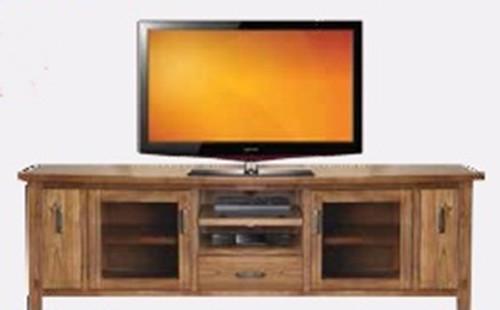MONTANA 2 DRAWER  2 DOOR TV UNIT - 2230(W) - MOUNTAIN GUM (2063)