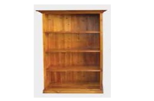LA 6X3 BOOKCASE - 1800(H) X 900(W) - BLACKWOOD (1024) OR WALNUT (1146)