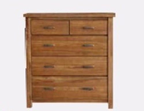MONTANA 5 DRAWER TALLBOY - MOUNTAIN GUM (2059)