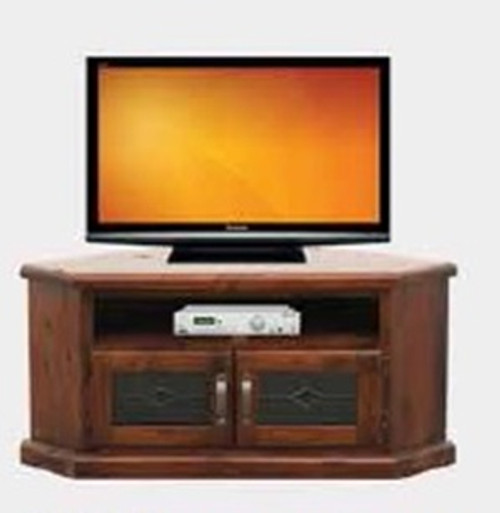 SPRING CORNER TV  UNIT - 1200(W)  - ROUGH SAWN  (1089)