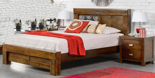Listing for Bed only, Bedside is not included.