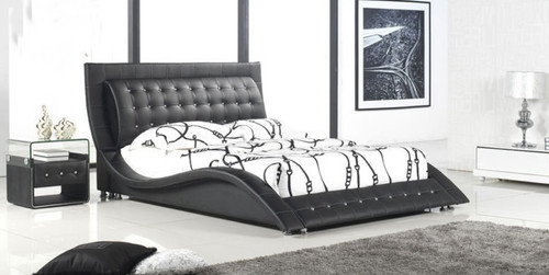 KING ANGEL (C311) LEATHERETTE BED - ASSORTED COLOURS