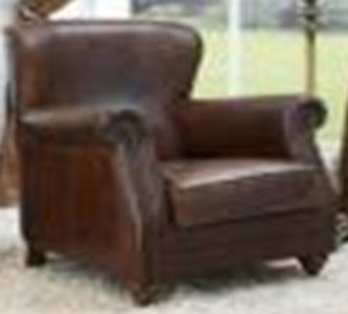 GUBIO (2004) 1 SEATER FULL LEATHER CHAIR