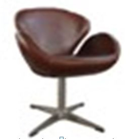 PAVIA(2017) 1 SEATER FULL LEATHER CHAIR WITH FLUSH SOCKET