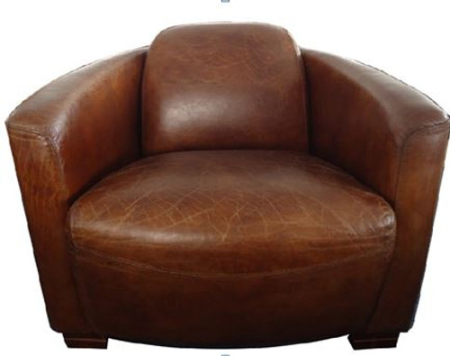 SPELLO (2027) 1 SEATER FULL LEATHER CHAIR