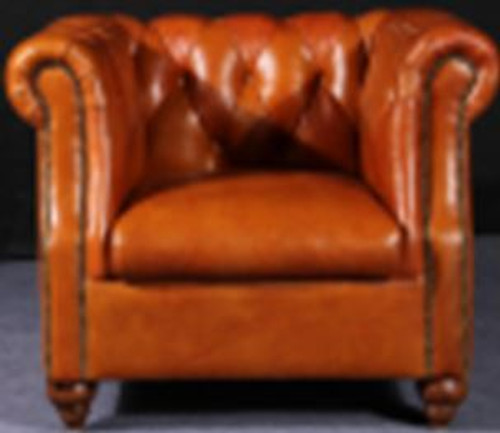 VITERBO (2029) 3 SEATER  + 1 SEATER + 1 SEATER LOUNGE SUITE -  FULL LEATHER