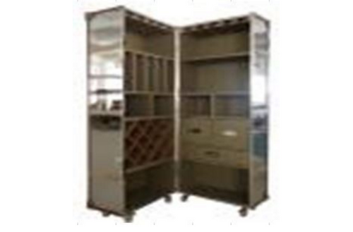 CHIUSI (1046) DOUBLE BOOKCASE - 1750(H) x 620(W)