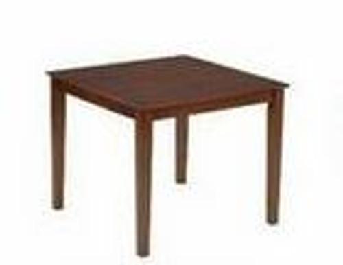 OXFORD SQUARE DINING TABLE - (MODEL T530) - 900(W) X  900(D) - ANTIQUE OAK