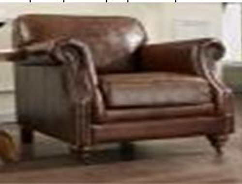 LIGURIA (3008)  1 + SEATER LEATHER CHAIR