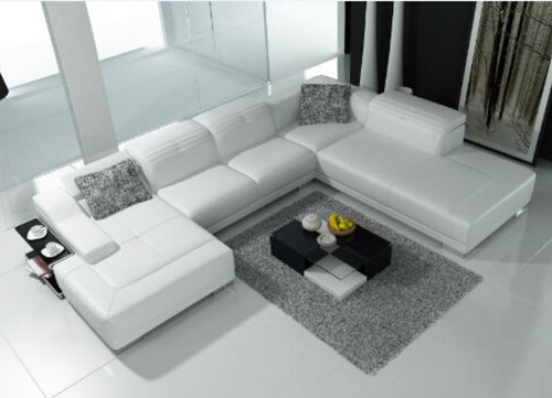 RUDD (K5002) CORNER  LOUNGE SUITE +  COFFEE TABLE - CHOICE OF LEATHER AND ASSORTED COLOURS AVAILABLE