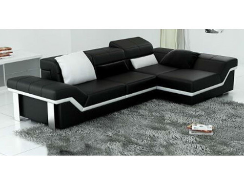 BEAZ (K5007F)  CHAISE LOUNGE  +  COFFEE TABLE - CHOICE OF LEATHER AND ASSORTED COLOURS AVAILABLE