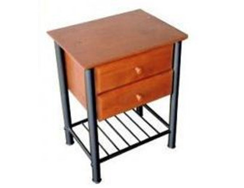 JERRA 2  DRAWER TABLE