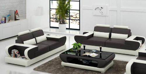 MUREX (G8003D) 3 SEATER + 2 SEATER LOUNGE - CHOICE OF LEATHER AND ASSORTED COLOURS AVAILABLE
