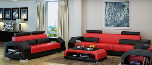 ROLDERMO (G8001) 3 SEATER + 2 SEATER LOUNGE - CHOICE OF LEATHER AND ASSORTED COLOURS AVAILABLE