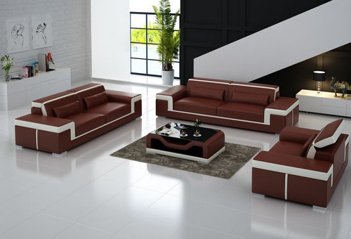 MAYOR (G8020D) 3 SEATER + 2 SEATER + 1 SEATER LOUNGE  SUITE WITH  COFFEE TABLE - CHOICE OF LEATHER AND ASSORTED COLOURS AVAILABLE