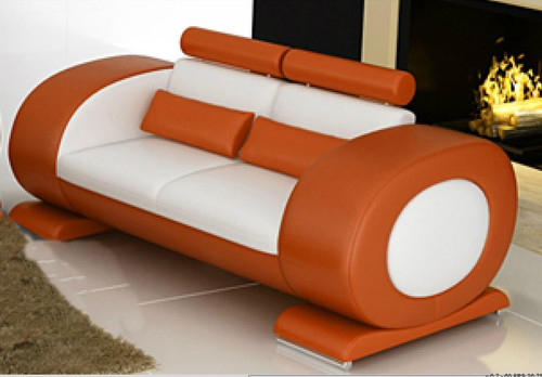 CAEIN  (R7004D)   2 SEATER SOFA - CHOICE OF LEATHER AND ASSORTED COLOURS AVAILABLE
