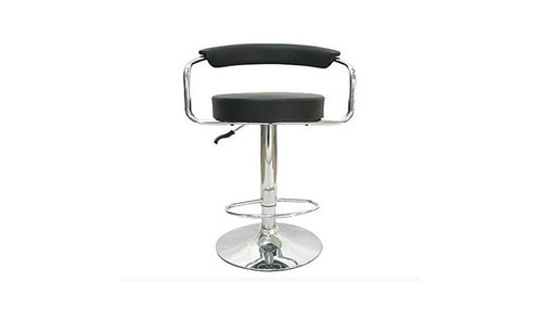 KOTEX (VIC-HS9028) KITCHEN BAR STOOL WITH GAS LIFT - SEAT: 620 - 840(H) - BLACK
