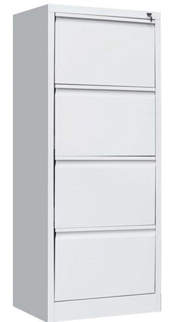 MULTI - PURPOSE  (LLIE09)  4  x  DRAWER  SHELF FOR GYM - OFFICE FILING - LOCKER - CABINET -  460(W) - GREY