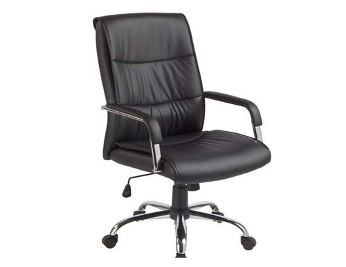 BOTWAN  (LDF-6101) EXECUTIVE PADDED OFFICE CHAIR - BLACK