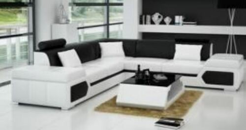 LUKASI BONDED LEATHER CORNER  LOUNGE SUITE ( MODEL-G1116B) - CHOICE OF LEATHER AND ASSORTED COLOURS AVAILABLE