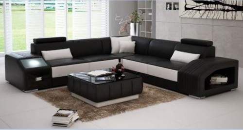 KATAWA BONDED LEATHER CORNER  LOUNGE SUITE ( MODEL-G1108B) - CHOICE OF LEATHER AND ASSORTED COLOURS AVAILABLE