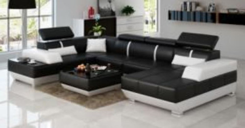 ZIMA XII LEATHER  CHAISE LOUNGE (MODEL- G1086) - CHOICE OF LEATHER AND ASSORTED COLOURS AVAILABLE