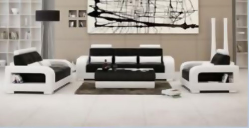 QUAMI 3S + 2S +1S SEATER BONDED LEATHER   LOUNGE (MODEL- G5080) - CHOICE OF LEATHER AND ASSORTED COLOURS AVAILABLE