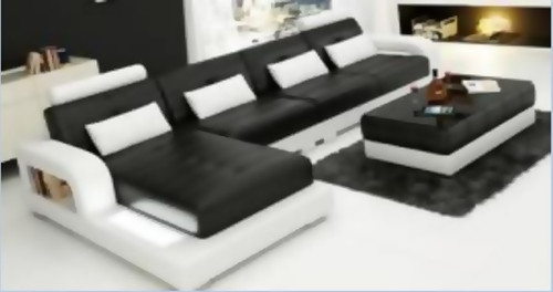 NIHAS   LEATHER  CHAISE LOUNGE (MODEL- G1080C) - CHOICE OF LEATHER AND ASSORTED COLOURS AVAILABLE