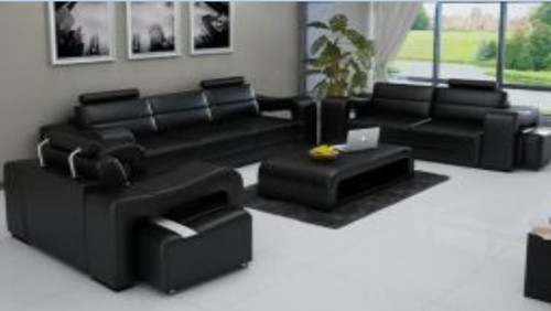 TERMIS 3S + 2S +1S   LEATHER   LOUNGE  SUITE (MODEL- G5072) - CHOICE OF LEATHER AND ASSORTED COLOURS AVAILABLE