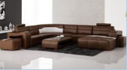 JORDAN  III LEATHER CHAISE  LOUNGE  (MODEL- G1072) - CHOICE OF LEATHER AND ASSORTED COLOURS AVAILABLE