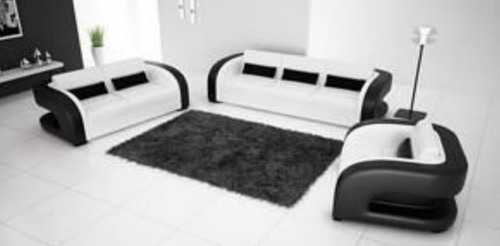 ZIPH 3S + 2S +1S   LEATHER   LOUNGE  SUITE (MODEL- G5007) - CHOICE OF LEATHER AND ASSORTED COLOURS AVAILABLE