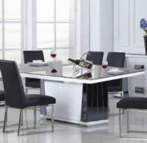 TORINO DINING TABLE ONLY (TORDT) - 2000(W) X 1000(D) - WHITE