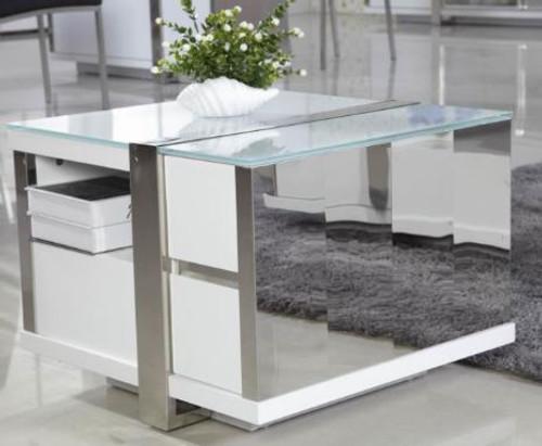 PALERMO LAMP TABLE (PALLT) - GLOSS WHITE