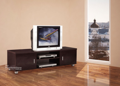 CONCORD TV PLATFORM - 1500(W)  - WHITE (PICTURED IN WALNUT)