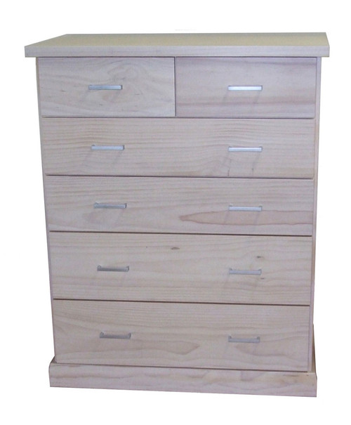 BAYSIDE (CBY306) TALLBOY 1180(H) x 950(W) x 440(D) - ASSORTED TIMBER COLOURS AVAILABLE