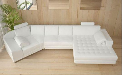 LINGO   CHAISE LOUNGE( MODEL-A1116) - CHOICE OF LEATHER AND ASSORTED COLOURS AVAILABLE