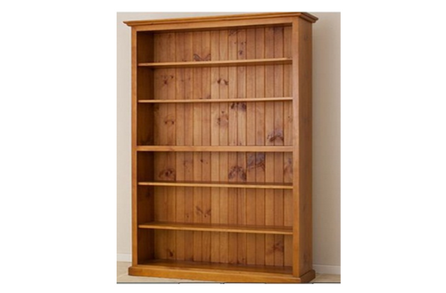 AUSSIE (CL) 7 x 4 ADJUSTABLE STRAIGHT TOP BOOKCASE - 2100(H) X 1200(W) - (LOCAL MADE) - ASSORTED COLOURS