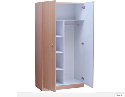 MISSION PANTRY COMBO - 1800(H) X 800(W)  - WALNUT