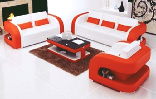 LARIMA (F3002C) 3 SEATER + 2 SEATER + 1 SEATER  LOUNGE - CHOICE OF LEATHER AND ASSORTED COLOURS AVAILABLE