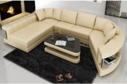 TALIA   LEATHERETTE LOUNGE  SUITE WITH  COFFEE TABLE - CHOICE OF LEATHER AND ASSORTED COLOURS AVAILABLE