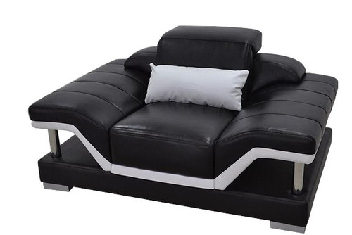 JOLLY  (G8004D) ONE  SEATER SOFA   - CHOICE OF LEATHER AND ASSORTED COLOURS AVAILABLE