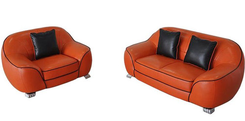 LANYU  (F3013)  2 SEATER  + 1 SEATER BONDED LEATHER LOUNGE  - CHOICE OF LEATHER AND ASSORTED COLOURS AVAILABLE
