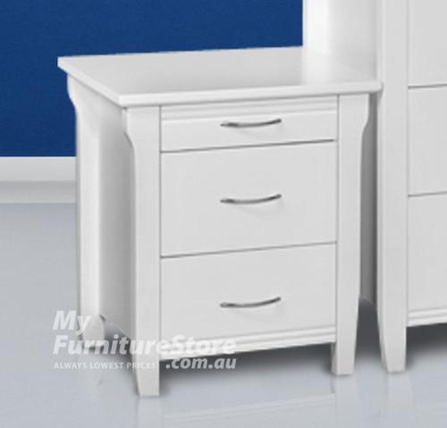 PARKVIEW (MODEL 18-15-13-1-14-25) BEDSIDE - WHITE