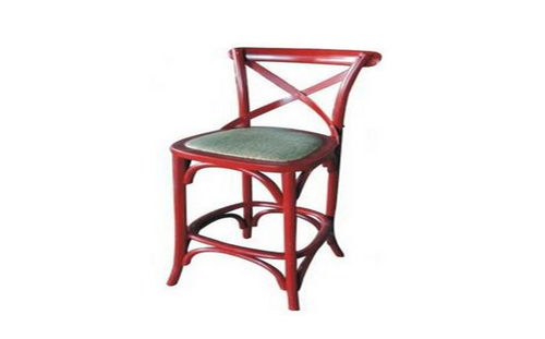 BARISTA (VBR-013) BAR CHAIR - SEAT: 760(H) -  RED