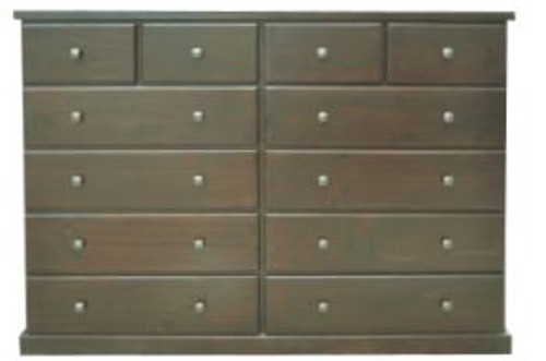 EMERALD 12 DRAWERS CHEST  1640(W) - WENGE