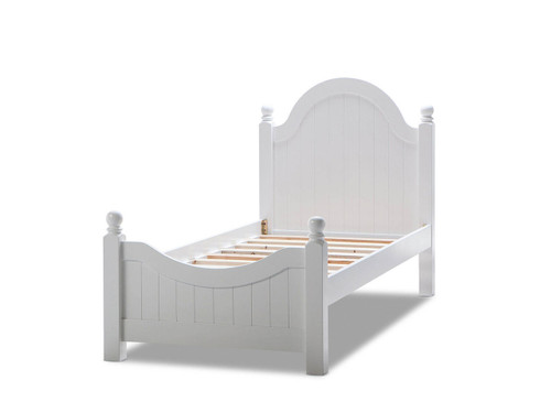 SINGLE ANALEEN BED (1-12-5-24-1-14-4-18-9-1) - WHITE