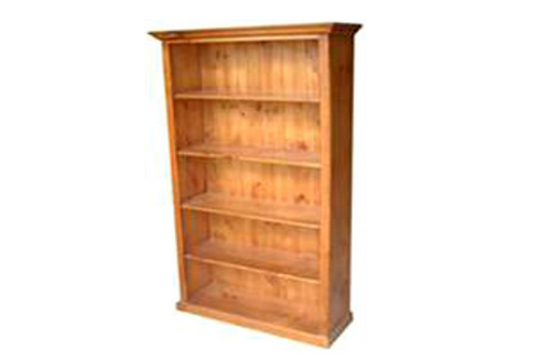FEDERATION LARGE BOOKCASE WITH T-BAR - 2000(H) X 1500(W) - ASSORTED COLOURS AVAILABLE
