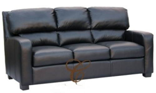MNY 3 SEATER - GENUINE LEATHER  SOFA - BROWN